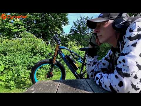 So Beautiful Cyrusher XF900 Fat Tire Electric Bike