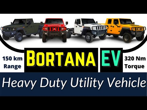 Heavy Duty Utility Electric Vehicle in Mining – Bortana EV