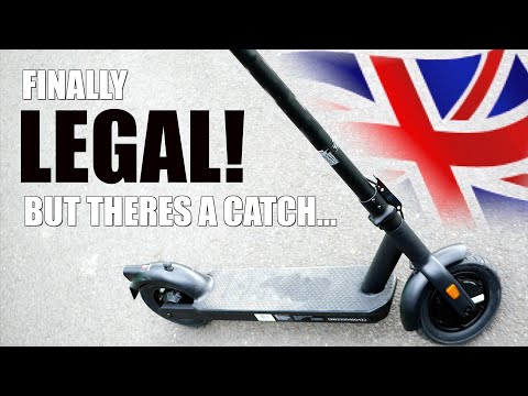 Are E-scooters Legal in the UK? 🇬🇧 RENTAL ELECTRIC SCOOTERS ONLY!?
