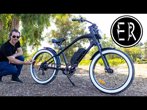 CHOPPER INSPIRED E-BIKE!!! Michael Blast Vacay electric bike review