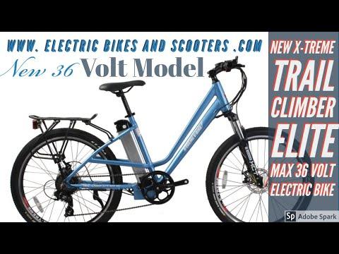 xtreme trail climber elite max 36 volt electric bike