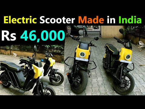 Made in India Electric Scooter 2020 – Electric N3310