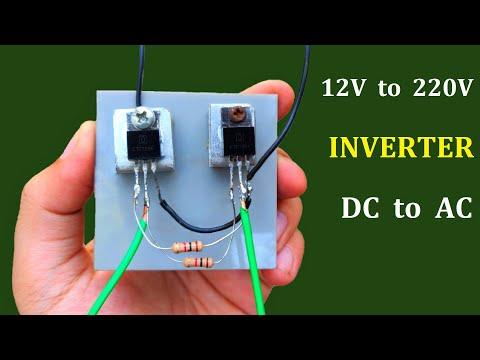 12v DC to 220v AC Converter ( Simple Inverter #2 ) – School Project Idea 2020