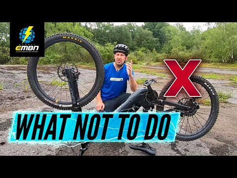 14 Things You Should Never Do On Your E Bike | EMTB Mistakes