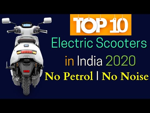 2020 Best Electric Scooters in India – Top 10 List