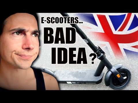 I WAS WRONG ABOUT ELECTRIC SCOOTERS… (Are E-scooters Legal UK? Aug 2020)