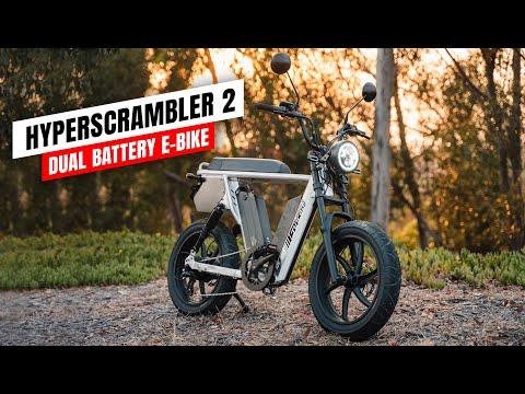 Juiced Bikes HyperScrambler 2 – Dual Battery E-Bike