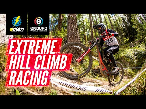 How Hard Is An EWS-E Power Stage? | Extreme E Bike Hill Climb Racing