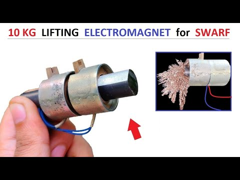 10 Kg Lifting Solenoid Electromagnet for Swarf Collecting – Awesome Idea 2020