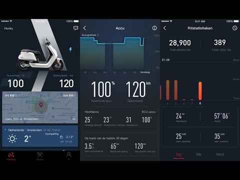 Niu Smart App Example – Electronics Test – Green-Mopeds.com