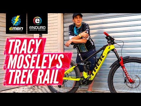 Tracy Moseley's EWS E Winning Trek Rail | EMBN Pro Bike Check