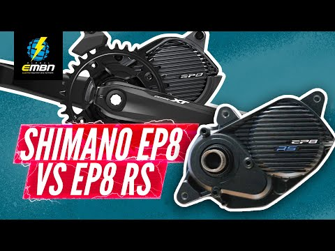 Shimano Ep8 Vs EP8 RS | EBike Motors Compared