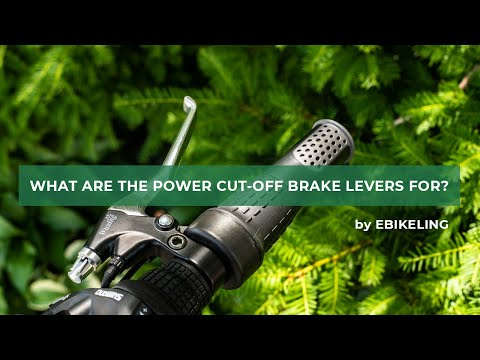 What are ebike power cut-off brake levers for?