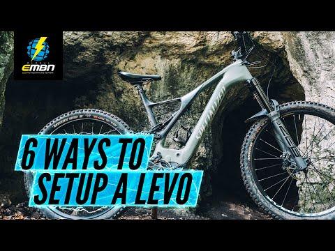 6 Different Ways To Set Up An E Bike | Specialized Turbo Levo Six Ways