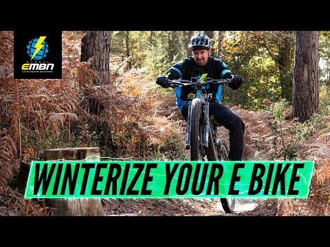 How To Prepare Your E Bike For Winter   Winterize Your E-MTB
