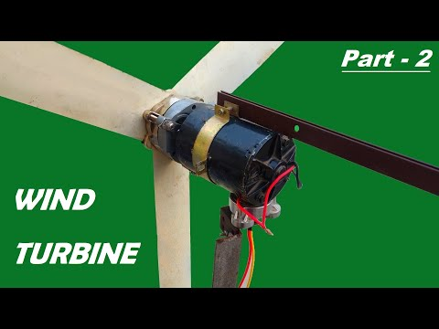 How to Make 12V Wind Turbine Generator from RO Pump – Part 2