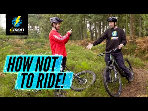 How Not To Ride An E Bike | Common EMTB Mistakes With Olly Wilkins