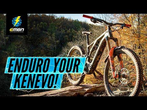 The 'Kenduro' – Making a Specialized Kenevo More Enduro