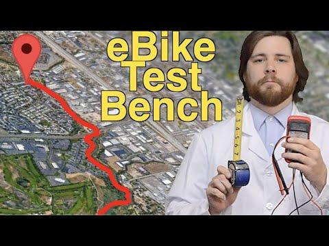 eBike Test Bench: Range, Hill Climb, Brakes, 0-15
