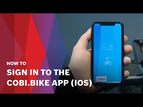 How to | Sign in to the COBI.Bike app (iOS)