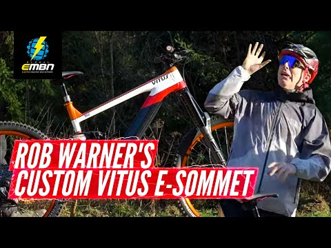 Rob Warner's Team Repsol Inspired Birthday Present From Vitus | EMBN Pro Bike Check