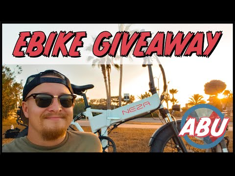FREE EBIKE GIVEAWAY…and welcome back!