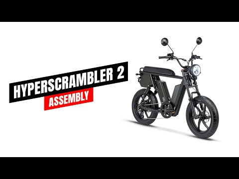 Juiced Bikes HyperScrambler 2 Assembly and Set-Up