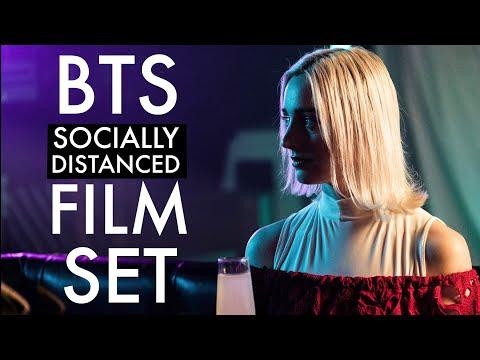 Behind the scenes on a (socially distanced) Film Set… 🎥VLOG (Arri Alexa mini)